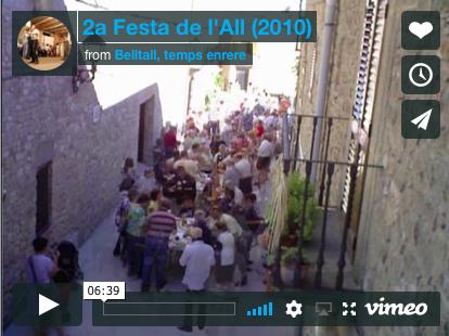 II Festa de l'all (2010)