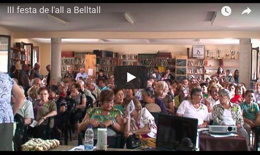 III Festa de l'All de Belltall